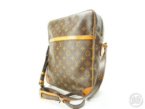 authentic pre owned louis vuitton monogram danube gm large
