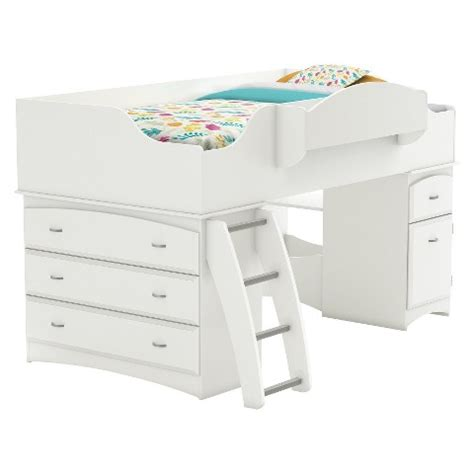 target kids bed imagine storage loft kids bed white twin sou target