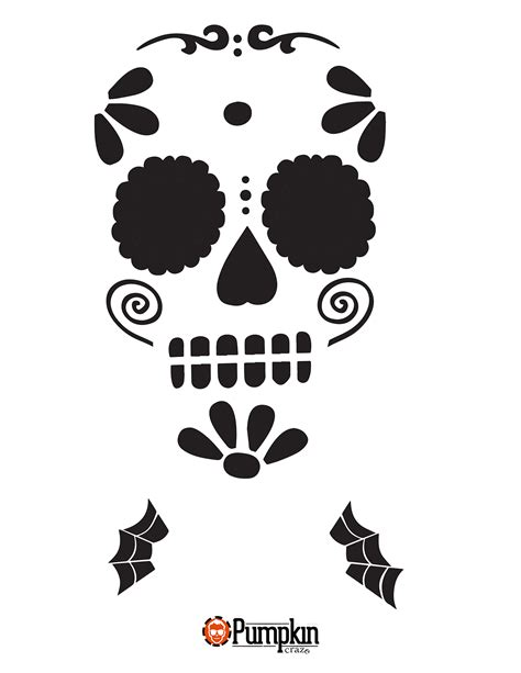 sugar skull template the gallery for gt sugar skull stencil
