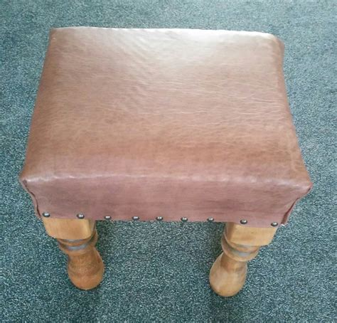 Handmade Footstools - a handmade footstool workshopshed