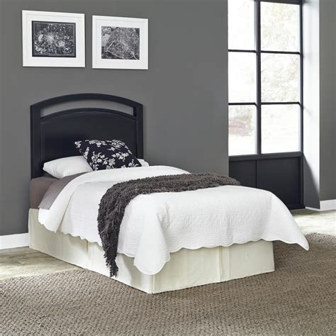 black headboard twin home styles prescott black twin headboard 5514 401 the