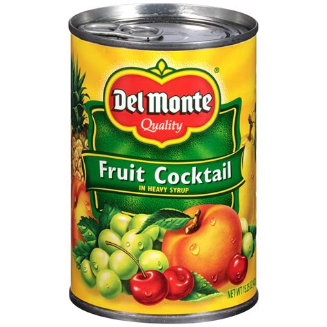 Wilmond Fruit Cocktail In Syrup Canned Monte Fruit Cocktail 15 25 Oz 432 G Shop Your Way Shopping Earn Points On