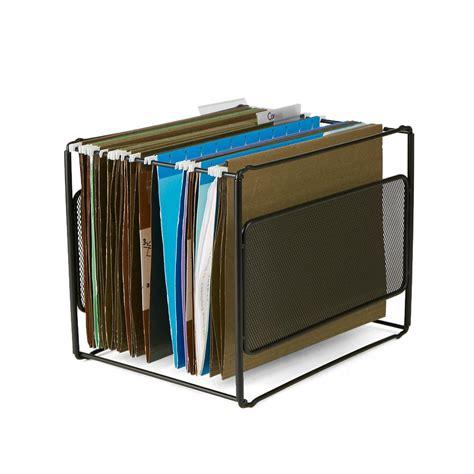 File Organizer mind reader metal mesh hanging folder file organizer in