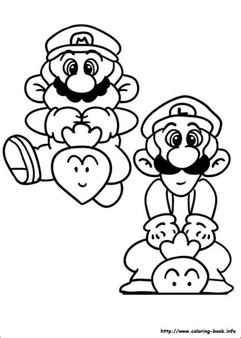 Nos jeux de coloriage Mario bros à imprimer gratuit - Page