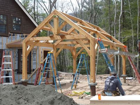 Post And Beam Garage Plans by Marvelous Post And Beam Garage Plans 3 Post And Beam
