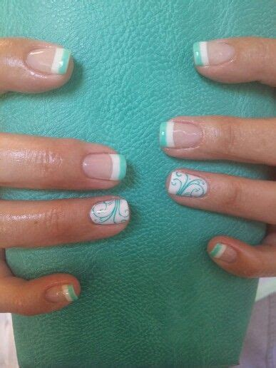 mint color nails mint green nails for pretty