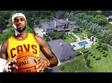 lebron james house in ohio lebron james house akron ohio cleveland cavaliers 2017