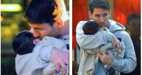 messi born new baby antonella roccuzzo is soccer football star lionel messi