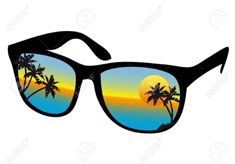 clipart occhiali sunglasses clipart palm tree pencil and in color