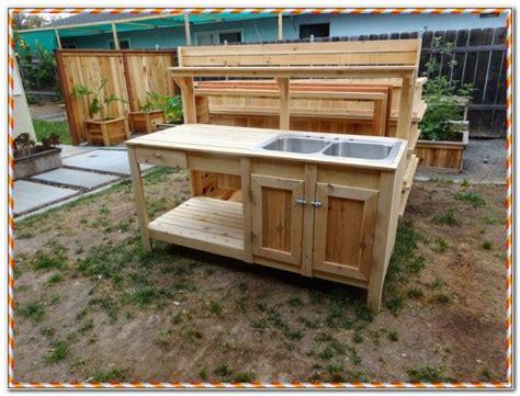 outdoor sink table restaurant kitchen sink table
