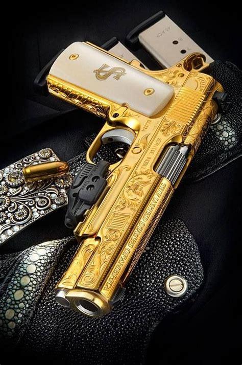 wallpaper gun gold engraved gold 1911 engraving knives and guns pinterest
