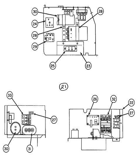 carrier air conditioner parts diagram panel diagram parts list for model 38hdc048330