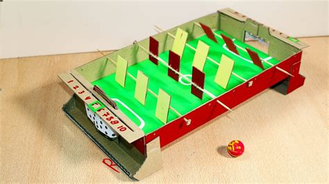 How To Make A Table Football Out Of Paper - how to make table soccer football from cardboard