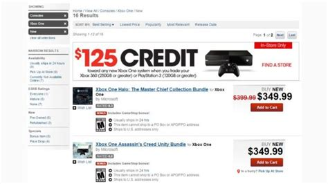 Gamestop Xbox One Giveaway - xbox one becomes cheaper at gamestop with credit for older console trade ins softpedia