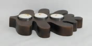 China wooden candle holder china wood craft home decoration