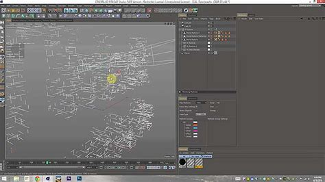 grid pattern c4d creating velocity grid restricted thinking particles in