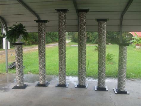 diy columns diy pillar columns another way diy project wedding forums
