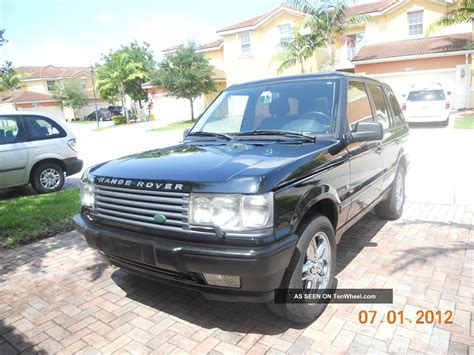 is range rover reliable 1995 range rover completely overhauled excellent and