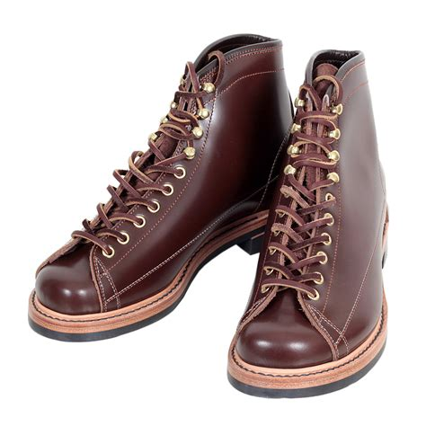 mens calf high boots stylish and cool mens brown leather boots by lone wolf