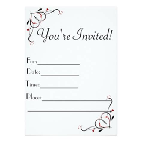 you are invited template you re invited invitations 5 quot x 7 quot invitation card