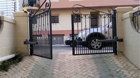 swing gate installation rotello series swing gate motor installation issued by