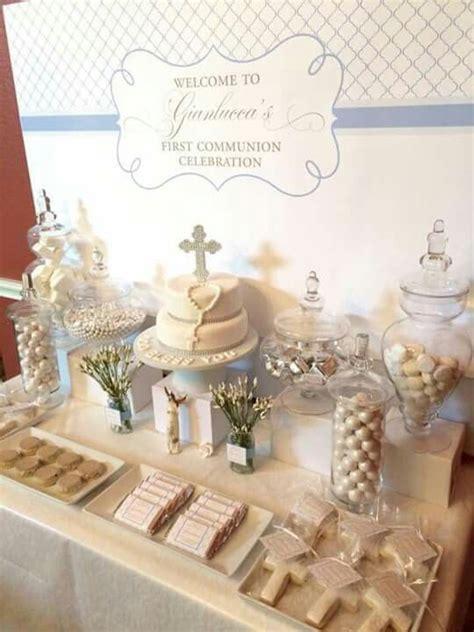 ideas para un bautizo 29 decoracion de interiores fachadas para casas como organizar la casa mesa de postres primera comunion bautizo mesa de postres mesas y postres