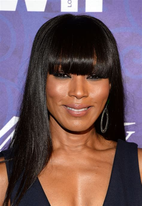 Angela Bassett Hairstyles by Angela Bassett Cut With Bangs
