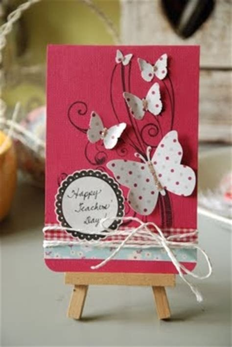 Teachers Day Handmade Greeting Cards - living loving scrapping teachers day cards
