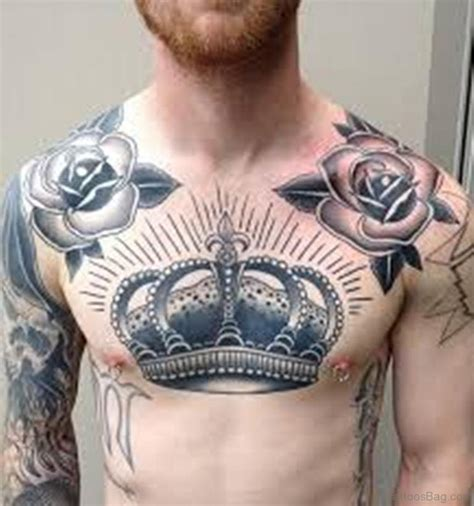tattoos for mens chest 50 glorious chest tattoos for