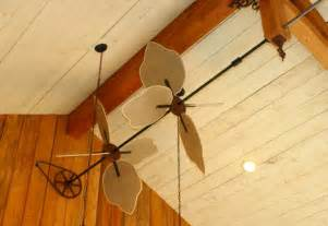 Pulley Driven Ceiling Fans Horizontal Ceiling Fans With Paddles Bring Back A