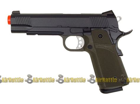Magazine Kjw Kp05 Gas kjw kp05 metal 1911 hi capa tactical gas blowback ris airsoft pistol od green