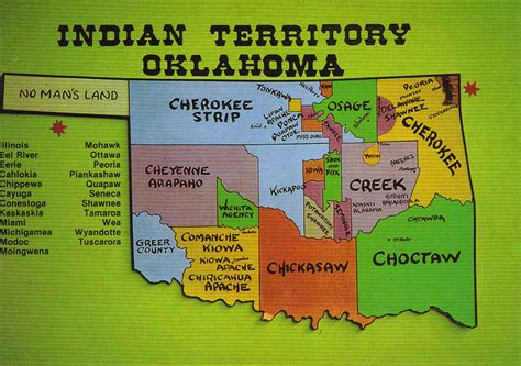 american tribes in oklahoma by map image gallery oklahoma indian tribes