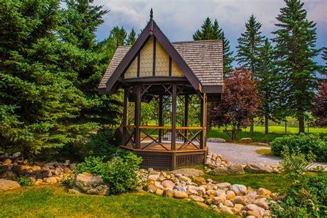 outdoor wedding venues calgary area wedding ceremony venue in calgary intimate outdoor