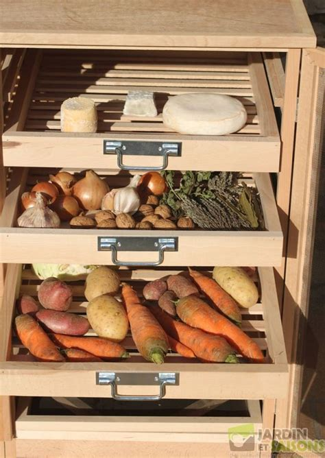 meuble a legumes pour cuisine garde manger l 233 gumier fruitier bas id 233 es pour la maison