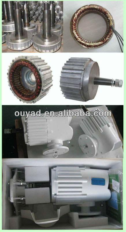 24v 48v 1kw wind turbine permanent magnet generator home