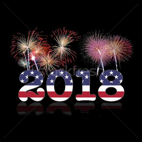 new year gifts 2018 usa new year 2018 stock photo 169 asturianu 8441219