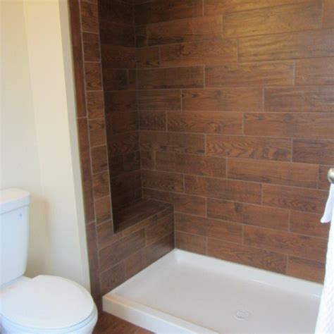 wood tile bathroom traditional bathroom philadelphia