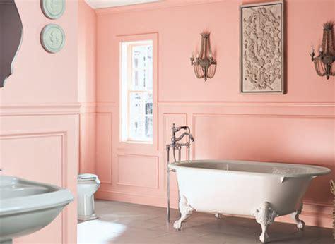 pink bathroom color schemes benjamin moore color trends 2014 palette cozy stylish chic