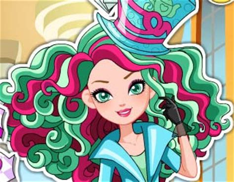 real haircuts games ever after high play free way too wonderland madeline hatter