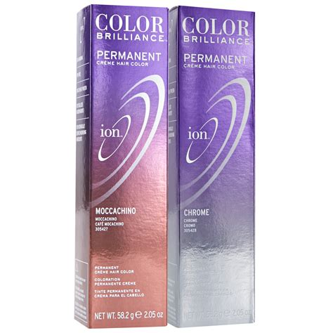 ion haircolor pucs ion color brilliance permanent creme 6rc moccachino