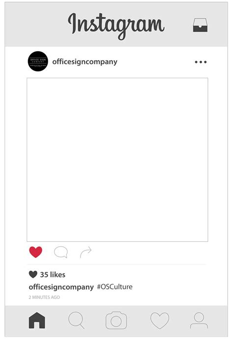 New Instagram Template Gallery Free Instagram Template