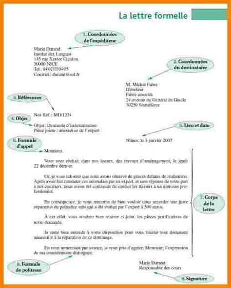Presentation D Une Lettre Officielle 233 crire lettre officielle type lettre recommand 233 e jaoloron