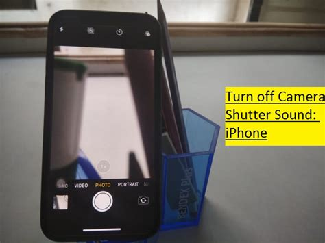 how to turn shutter sound on iphone xs max disable click mute