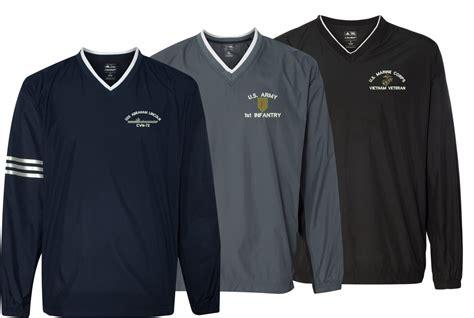 custom embroidery shirts adidas custom embroidered windshirts
