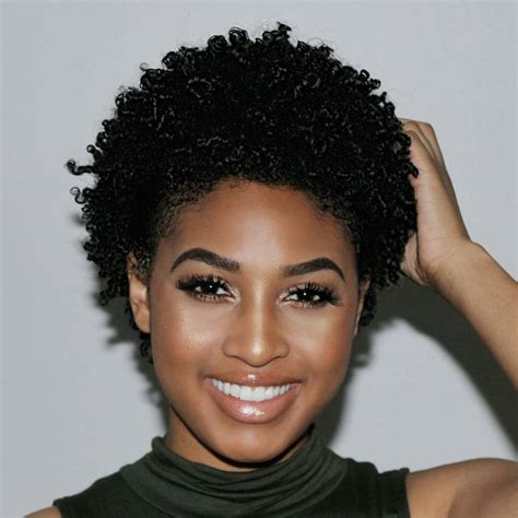 natural hairstyles for high forhead black hair 75 most inspiring natural hairstyles for short hair in 2018