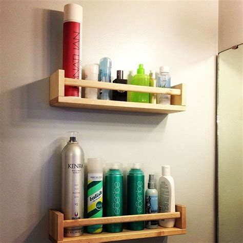 Bathroom Toiletries Storage Toiletries Ikea Bekv 196 M Spice Rack 4 Pinterest