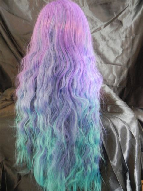 mermaid colored hair verity mermaid hair