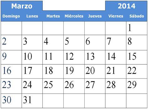 Calendario Marzo 2014 Orquestas Y Fiestas Febrero 2014