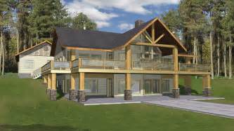 walkout house plans vacation home plans homeplans