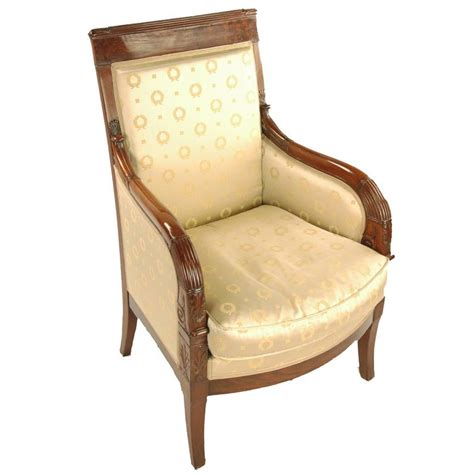 bergere armchair bergere chair armchair france circa 1800 mahogany at